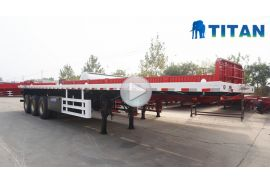 40ft container flatbed trailer