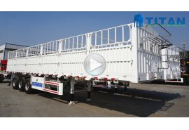 Multi types of stake cargo trailer