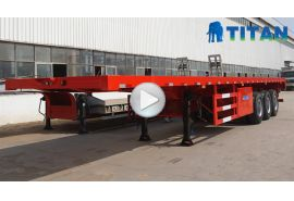 Different type of flatbed trailer