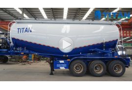 Different type of powder tanker trailer