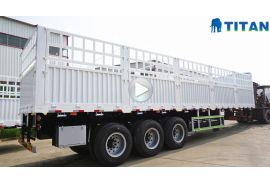 60 tons stake semi trailer
