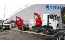 45 Ton Container Side Lifter Truck